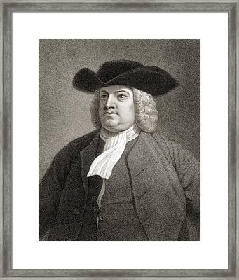 William Penn 1644-1718. English Quaker Framed Print