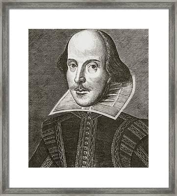 William Shakespeare 1564 - 1616 Framed Print