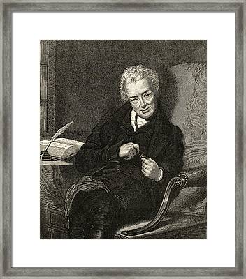 William Wilberforce, 1759-1833. British Framed Print by Vintage Design Pics