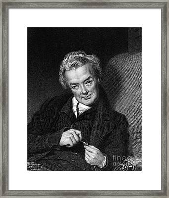 William Wilberforce, British Politician Framed Print by Middle Temple Library