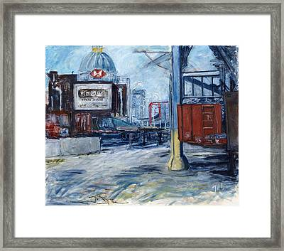 Williamsburg1 Framed Print by Joan De Bot