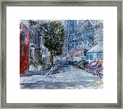 Williamsburg2 Framed Print by Joan De Bot