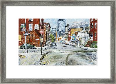 Williamsburg3 Framed Print by Joan De Bot