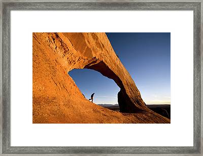 Wilson Arch Framed Print