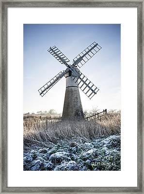 Windmill Framed Print by Svetlana Sewell