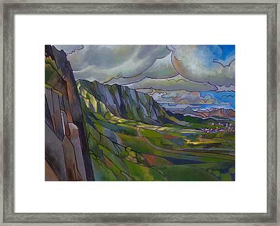 Windward Passage Framed Print by Douglas Simonson