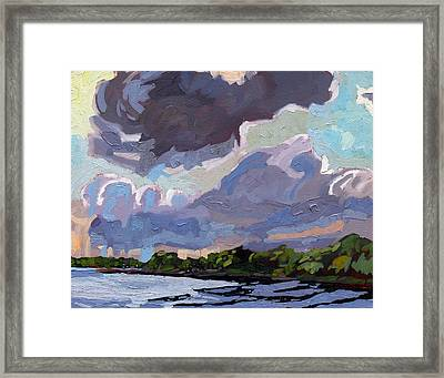 Windy Day Framed Print