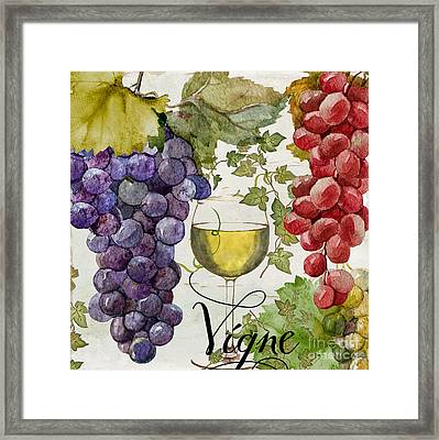 Wines Of Paris II Framed Print