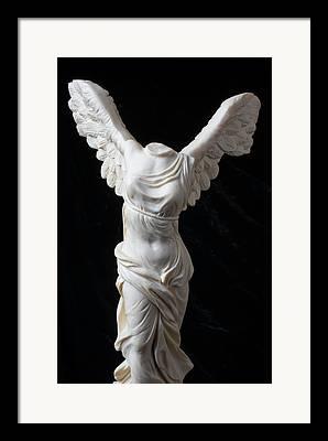 Greek Goddess Nike Framed Prints