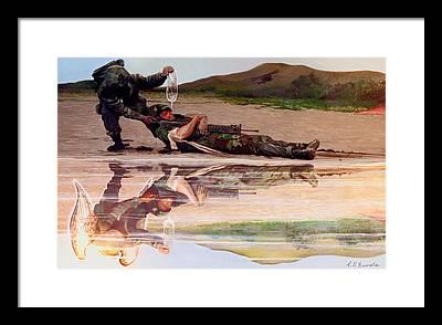 Todd Krasovetz Framed Prints