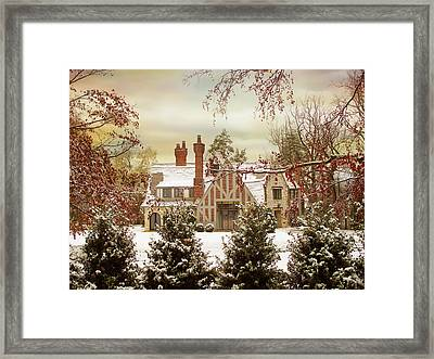 Winter Estate Framed Print