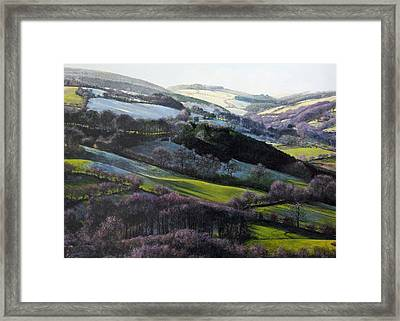 Winter In North Wales Framed Print