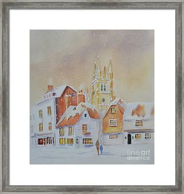 Winter In Tenterden Framed Print