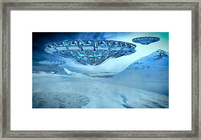 Winter Invasion By Raphael Terra Framed Print by Raphael Terra