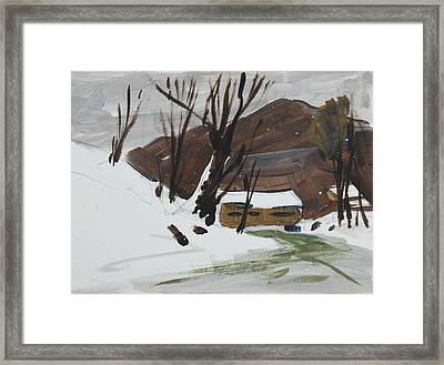 Winter Framed Print by Len Stomski