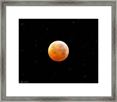Winter Solstice Lunar Eclipse 2010 Framed Print by Kevin Munro