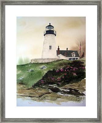 Winter Thaw Framed Print by Monte Toon