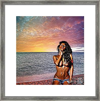 Wish You Were Here Framed Print by The DigArtisT