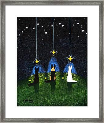 Wishing On A Star Framed Print