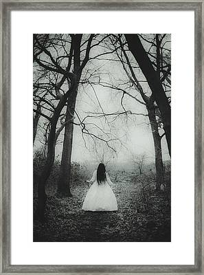 Witch Framed Print by Art of Invi