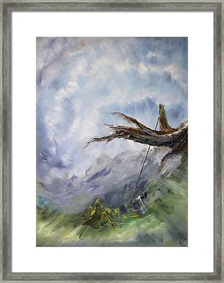 With Other Eyes Framed Print by Carola Eleonore Thiele