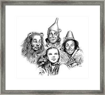 Wizard Of Oz Framed Print by Greg Joens