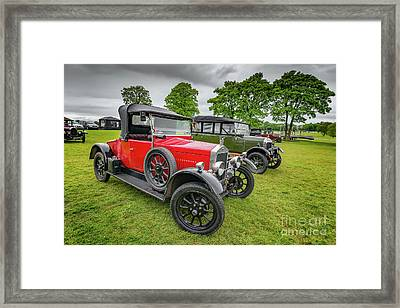 Wolseley Classic Car Framed Print by Adrian Evans