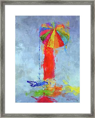 Women In Color 2 Framed Print