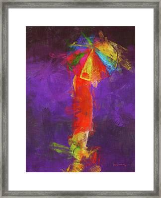 Women In Color Framed Print