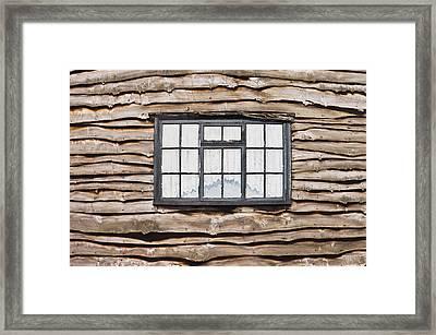 Wooden House Framed Print