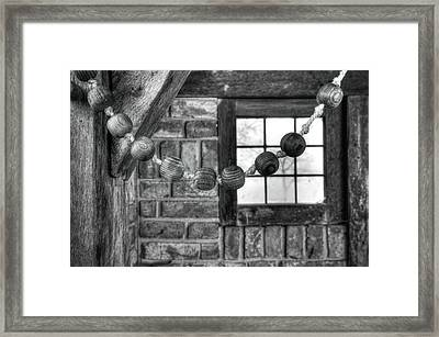 Wooden Rosary Framed Print by Hans Engbers
