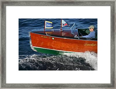 Woodie Classic Framed Print