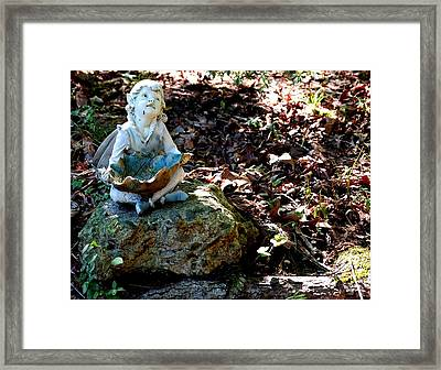 Woodland Fairy Framed Print by Sharon Blanchard