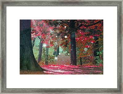 Woods  Framed Print by Mark Ashkenazi