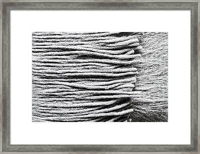 Wool Scarf Framed Print