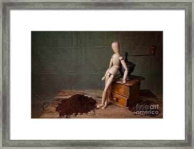 Working The Mill Framed Print by Nailia Schwarz