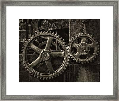 Working Together Framed Print
