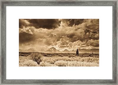 Wyoming Sky Framed Print by Patrick  Flynn
