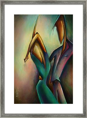X Framed Print by Michael Lang