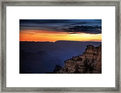 Yaki Point Dawn Framed Print