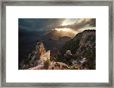 Yaki Point Sunrise Framed Print by Mike Buchheit
