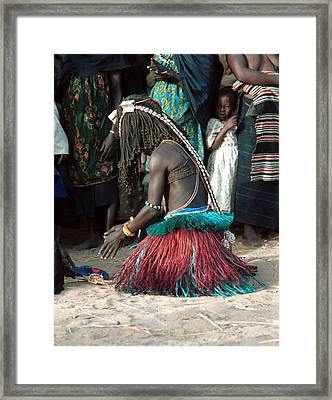 Yanda 1989 Framed Print by Huib Blom