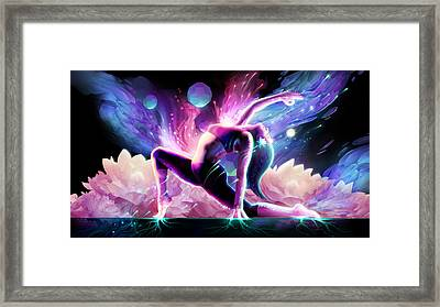 Yin Salutation Framed Print by George Atherton