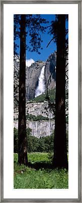 Yosemite Falls Yosemite National Park Framed Print by Panoramic Images