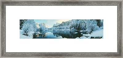 Yosemite National Park Ca Usa Framed Print by Panoramic Images
