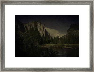 Framed Print featuring the photograph Yosemite National Park by Ryan Photography
