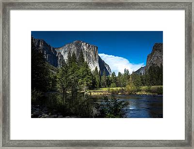 Framed Print featuring the photograph Yosemite by Ryan Photography