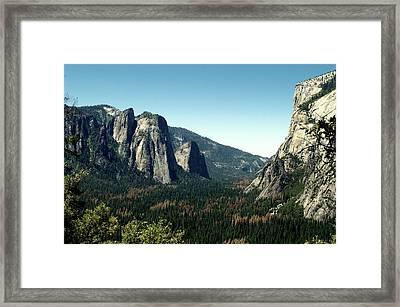 Yosemite Valley Framed Print by Nick Jones