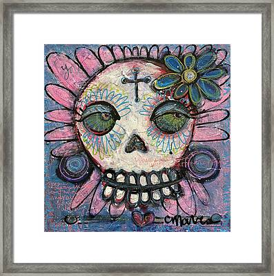 Framed Print featuring the painting You Are Always In My Heart by Laurie Maves ART