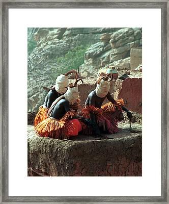 Yougo Dogorou 1986 Framed Print by Huib Blom